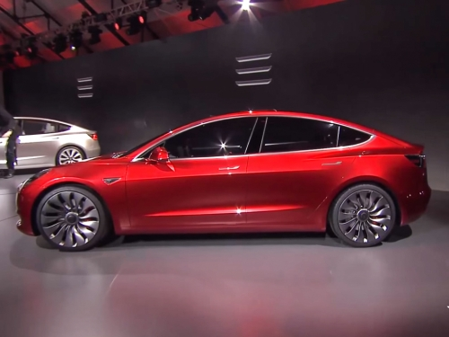 Tesla announces Model 3, an all-electric sedan for the masses