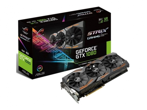 Asus unveils cheaper GTX 1080 STRIX A8G graphics card