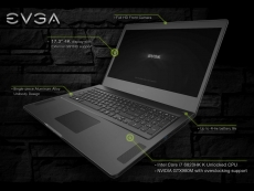 EVGA unveils its first gaming notebook at CES 2016