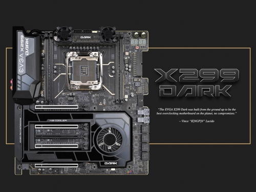 EVGA launches X299 Dark motherboard