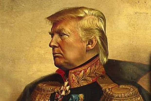 Trump goes all Napoleonic on Facebook