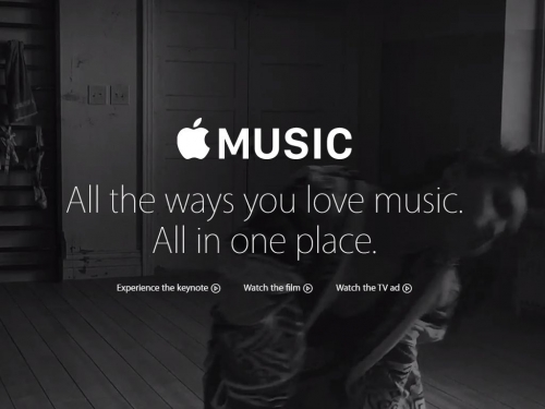 Apple announces Apple Music at WWDC 2015