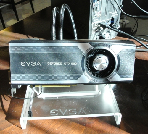 EVGA shows new GTX 980 Hydro Copper at CES 2015