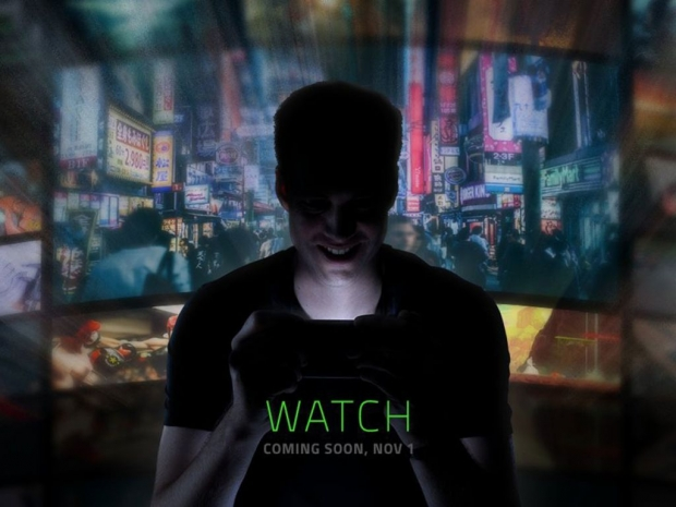 Razer gearing up for a big unveil on November 1st