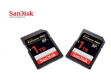 Sandisk pushes the envelope with 1TB SD card