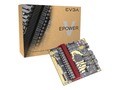 EVGA officially releases EPOWER V board