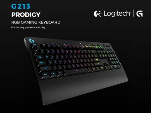 Logitech shows off more G213 Prodigy RGB details