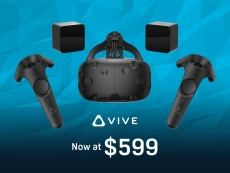 HTC cuts Vive VR headset price by US $200