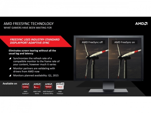 AMD FreeSync monitors now available in select regions