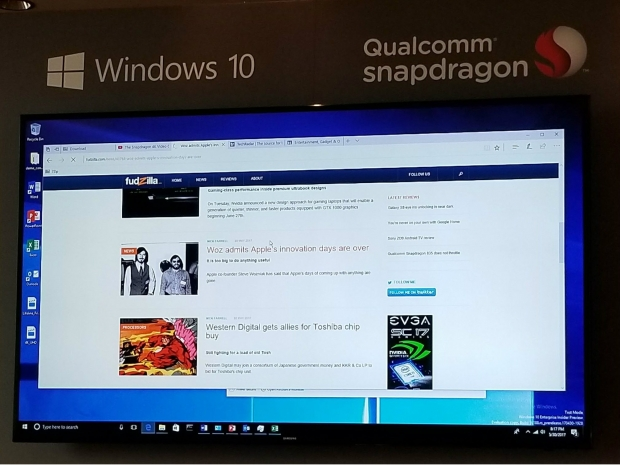 Windows 10 on Snapdragon 835 has incredible standby