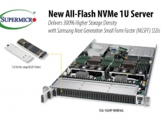 Super Micro releases all-flash NVMe 1U SuperServer