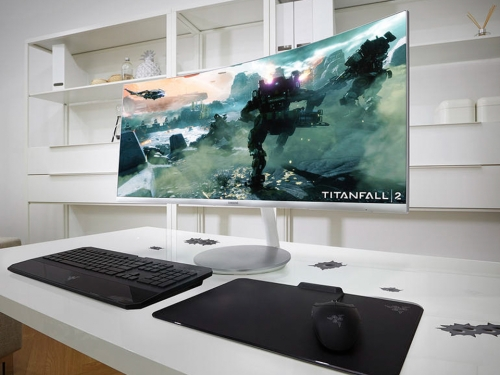 Samsung launches three quantum-dot curved gaming panels