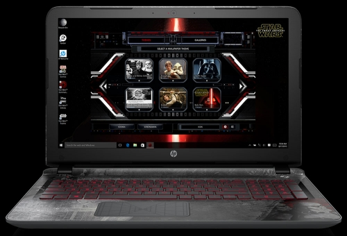 HP issues Star Wars themed Skylake laptop
