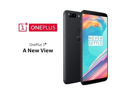 OnePlus officially unveils the OnePlus 5T smartphone