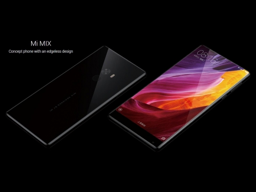 Xiaomi pulls the Mi MIX smartphone out of its hat