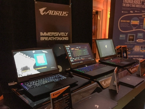 Gigabyte unveils Aorus v7 gaming notebooks at CES