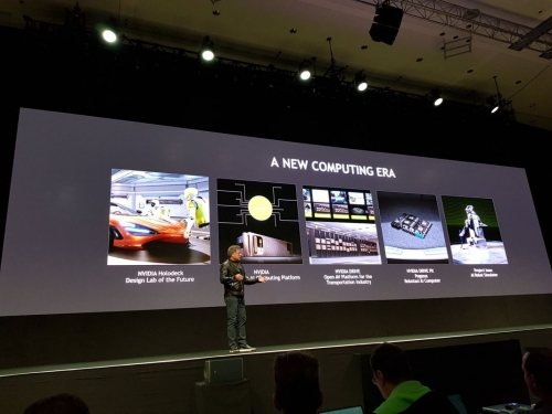 Nvidia announces self driving Pegasus